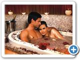 Therme Erding Royal Day Spa Badeerlebisse im Rosenbad